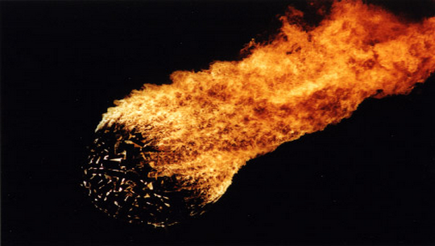 Grandes boules de feu