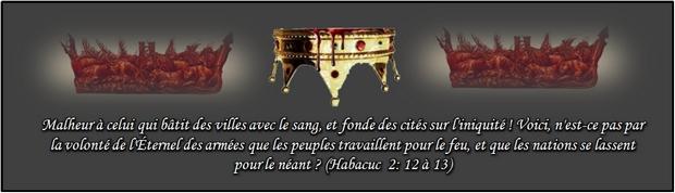 Pourquoi la marque apporte la mort spirituelle? dans Réveil Habacuc-2-12-13