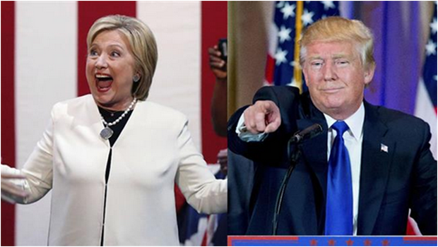 DONALD TRUMP OU HILLARY CLINTON