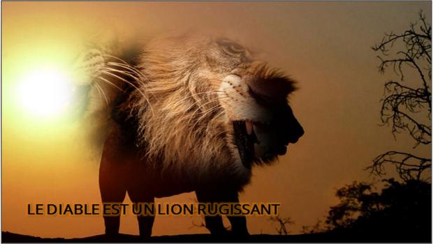 LE DIABLE EST UN LION RUGISSANT