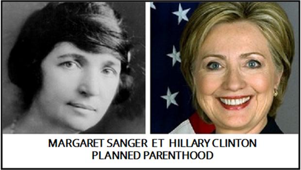 HILLARY ET MARGARET SANGER ET PLANNED PARENTHOOD