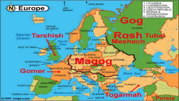 La guerre de Gog et Magog